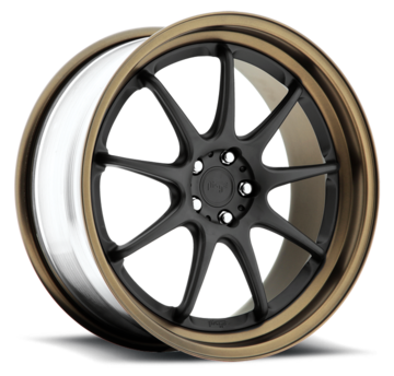 Niche WS19 - H55 Black and Matte Bronze Wheels