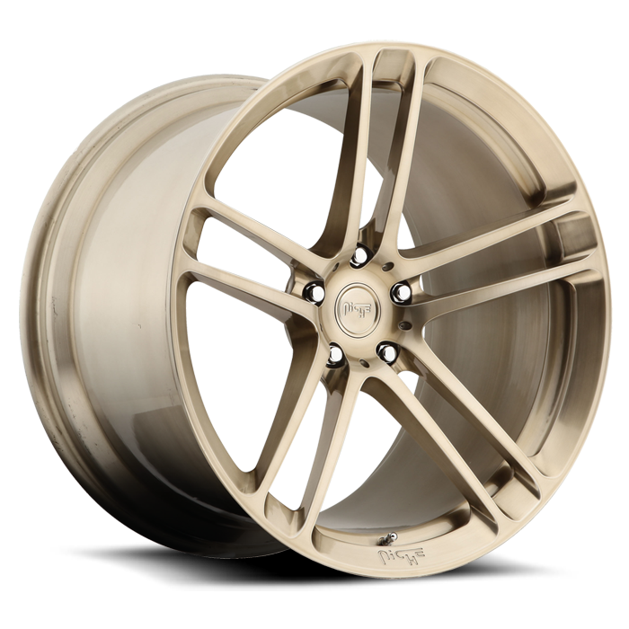 Niche Zen - T26 Brushed Liquid Bronze Monoblock Wheels