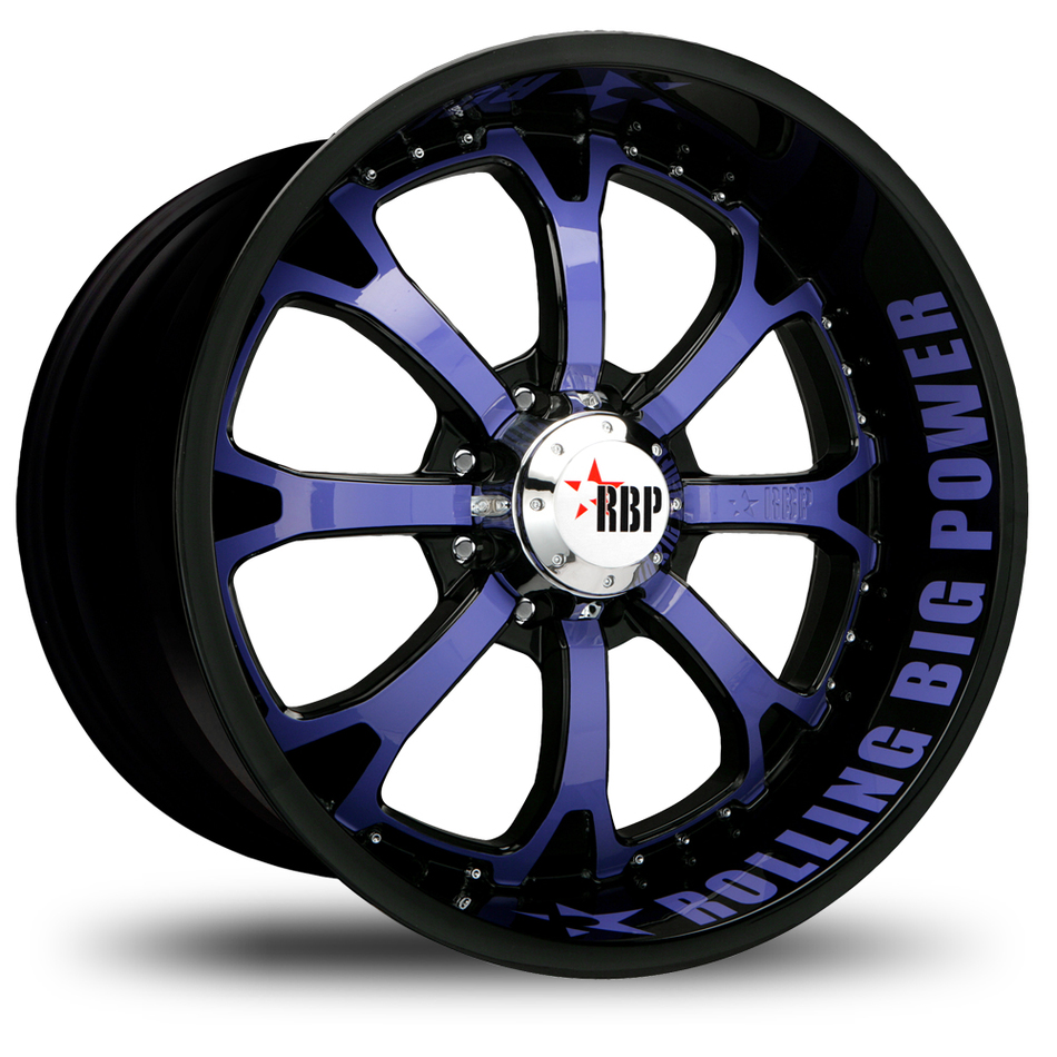 RBP 96R Custom Painted Finish Offroad Wheels