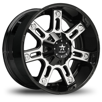 RBP 97R Black and Machined Offroad Wheels