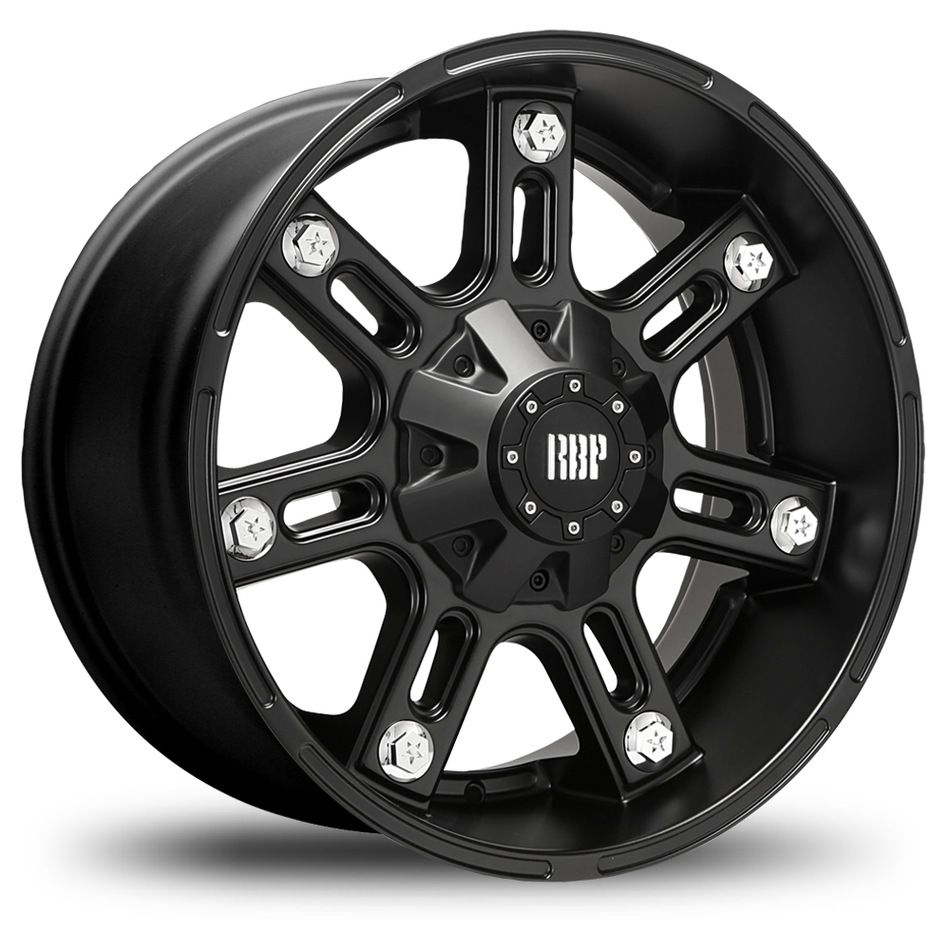 RBP 97R Matte Black Offroad Wheels