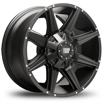 RBP 98R Flat Black Offroad Wheels