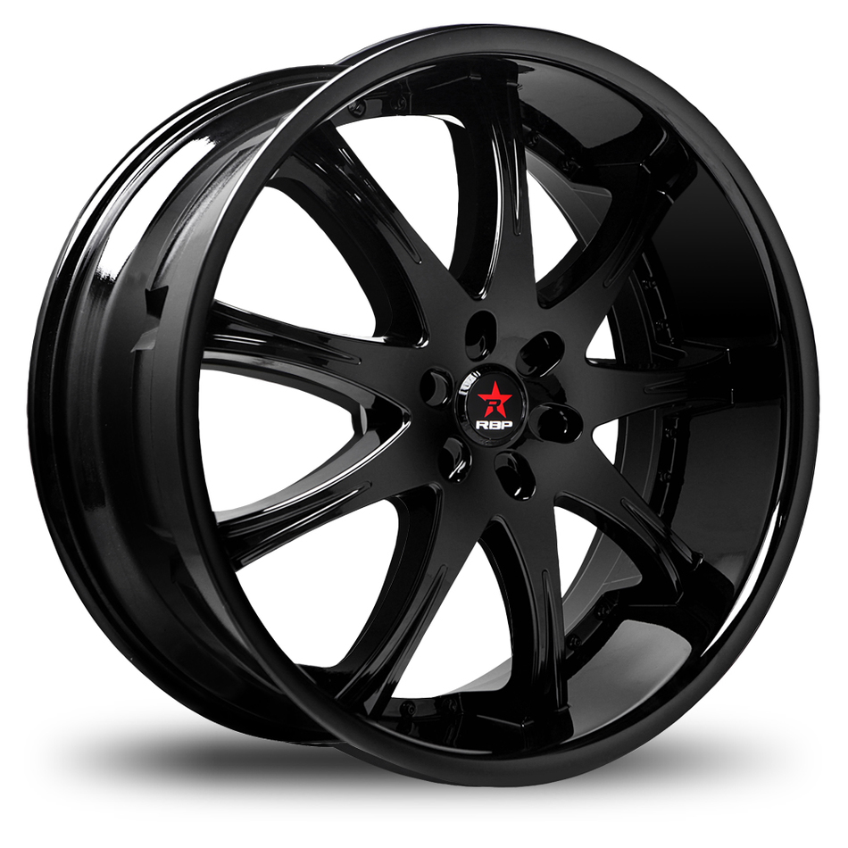 RBP Adrenaline Gloss Black Wheels
