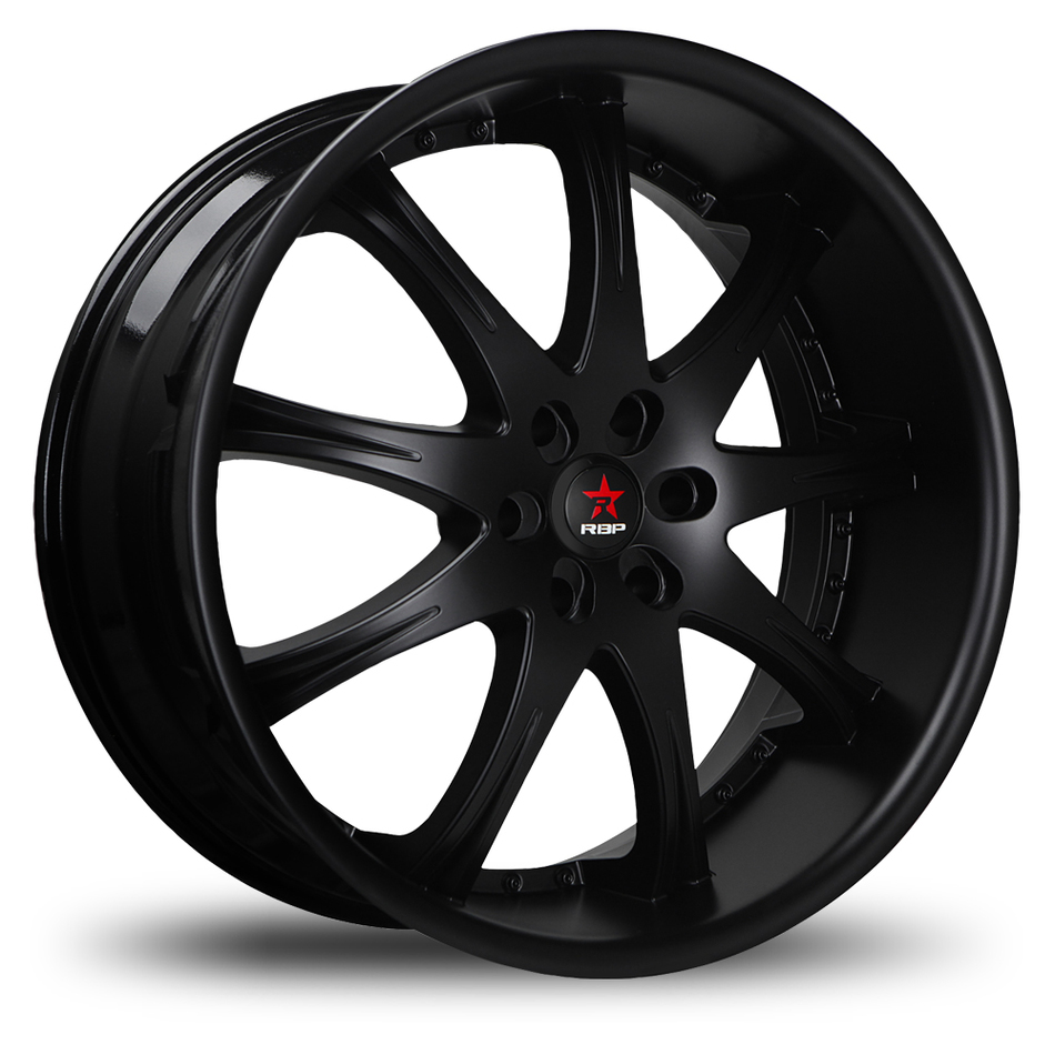RBP Adrenaline Satin Black Wheels