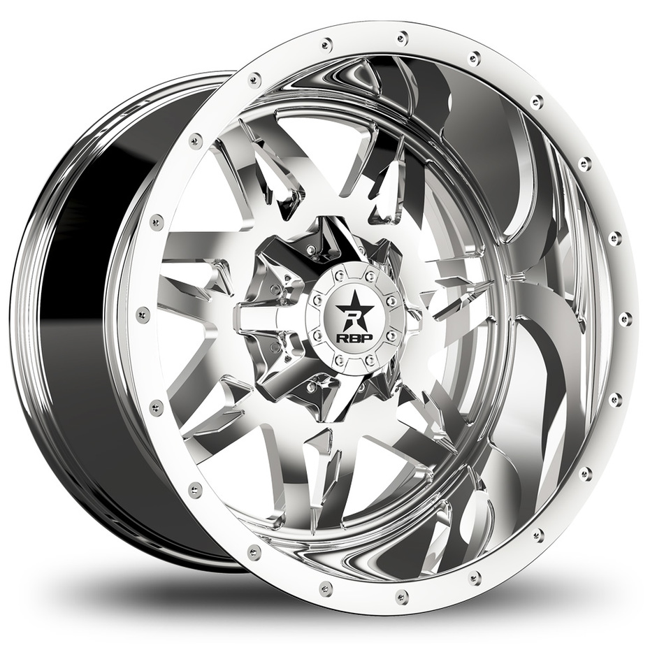 RBP Avenger Monoblock Chrome Finish Wheels