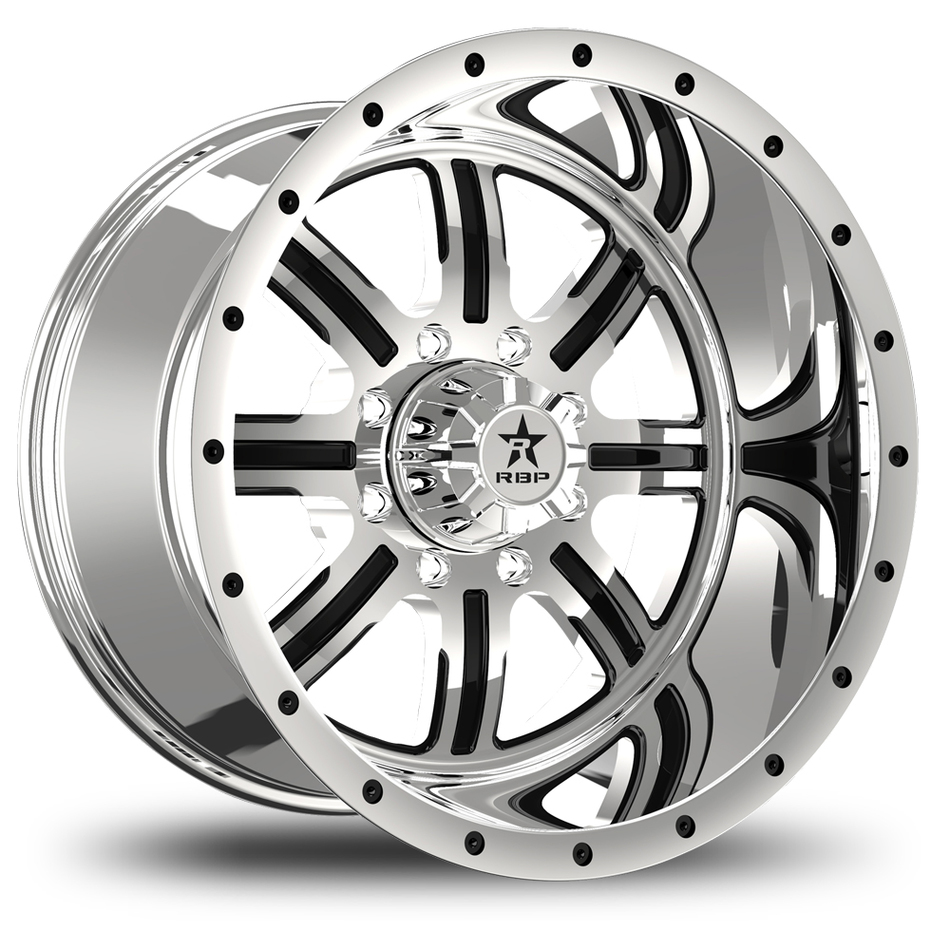 RBP Baretta Monoblock Chrome Finish Wheels