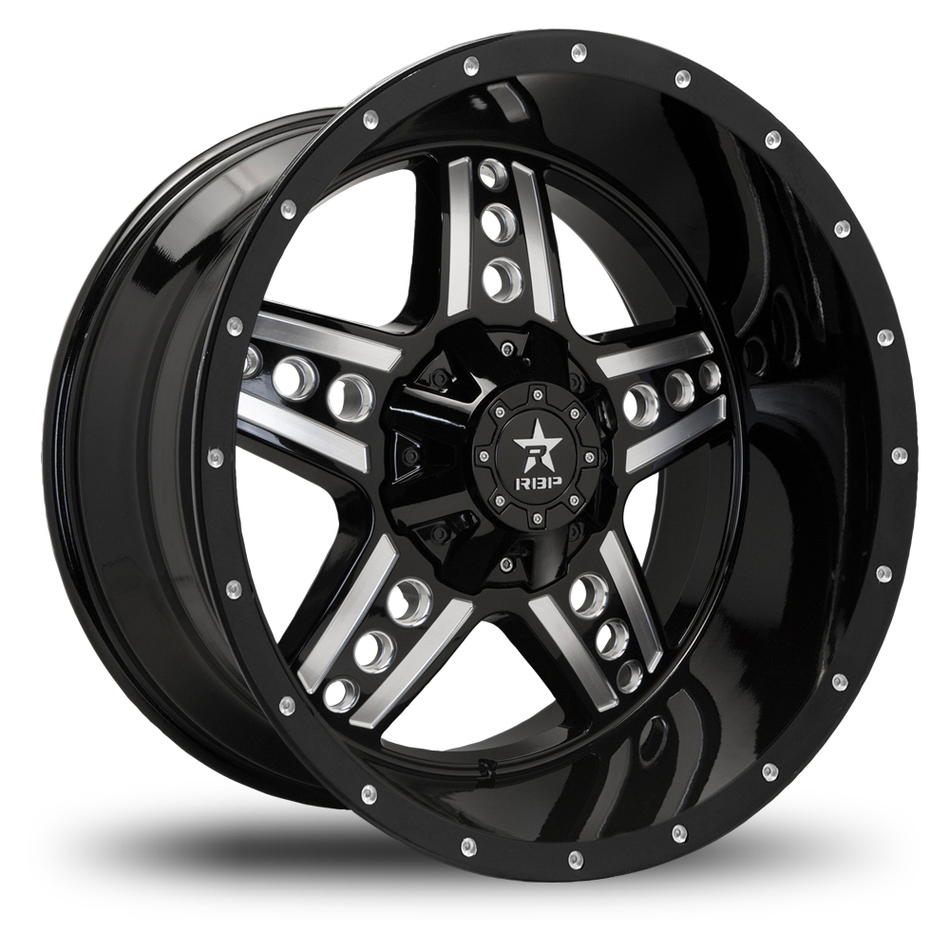 RBP Colt Offroad Gloss Black and Machined Finish Wheels