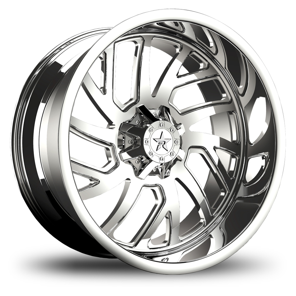 RBP Glock Monoblock Chrome Finish Wheels
