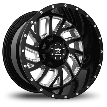 RBP Glock Machine Black Finish Wheels