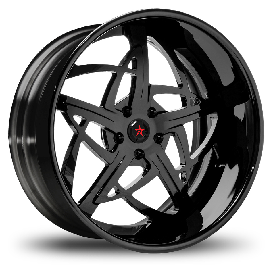RBP Spartan 3 Piece Gloss Black Wheels