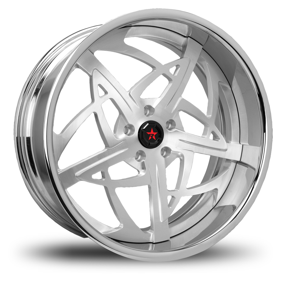 RBP Spartan 3 Piece Brushed Wheels