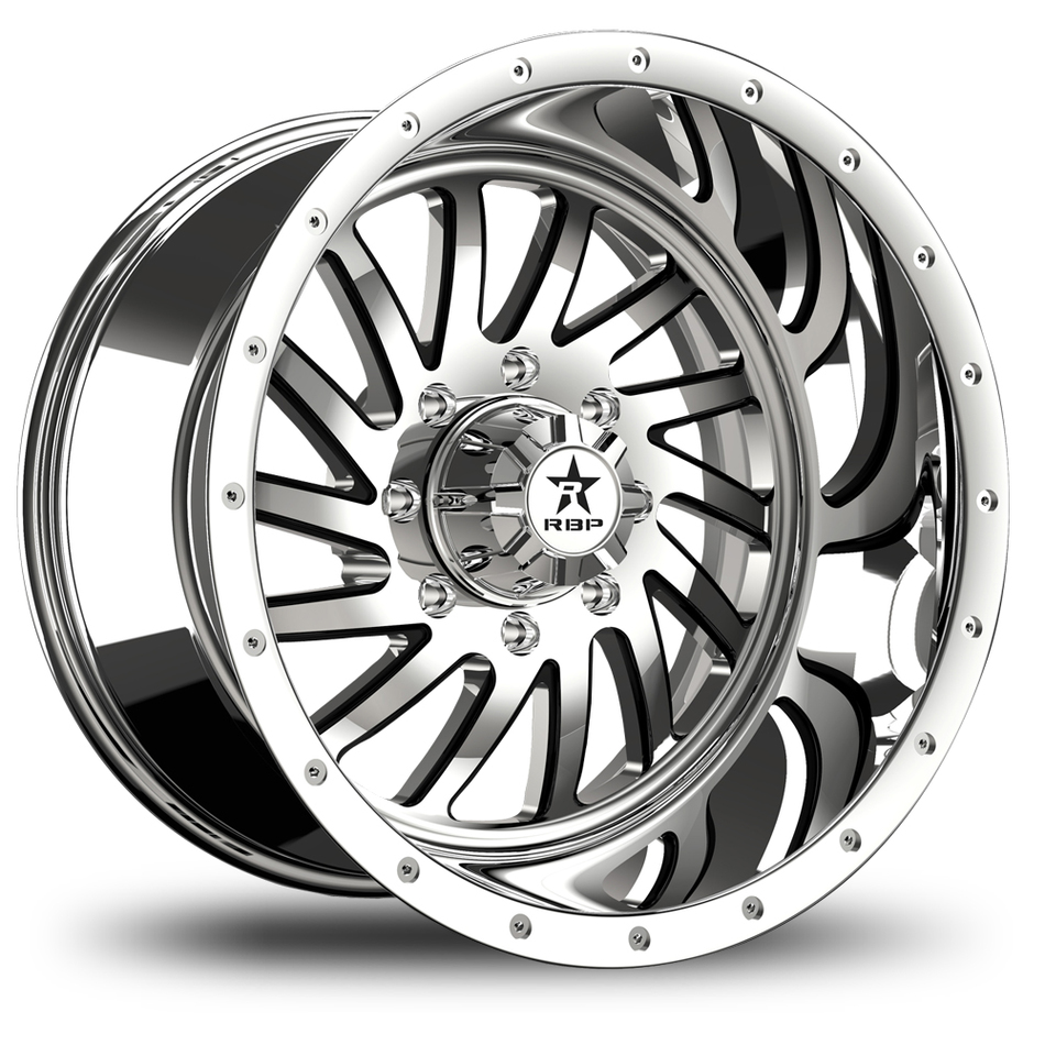 RBP Uzi Monoblock Chrome Finish Wheels