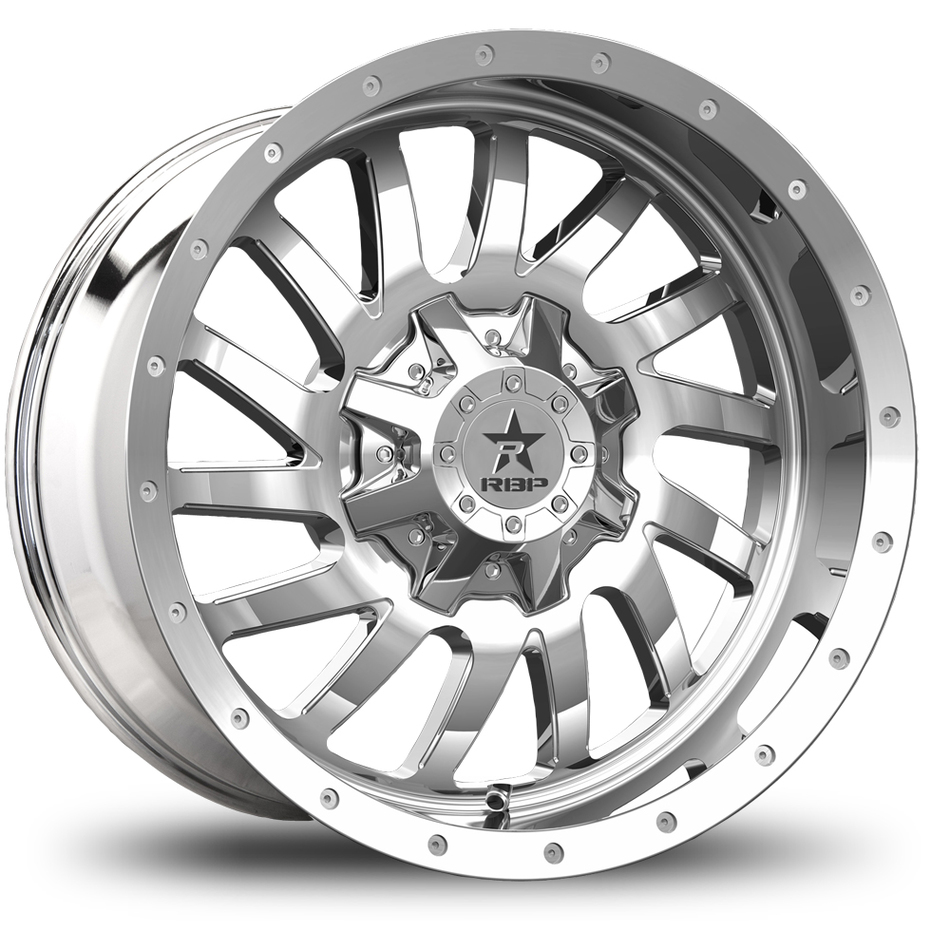 RBP Uzi Offroad Chrome Finish Wheels