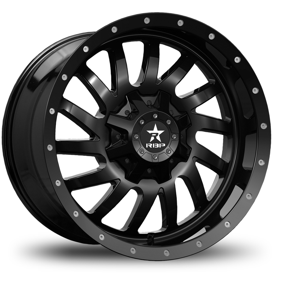 RBP Uzi Offroad Gloss Black Finish Wheels