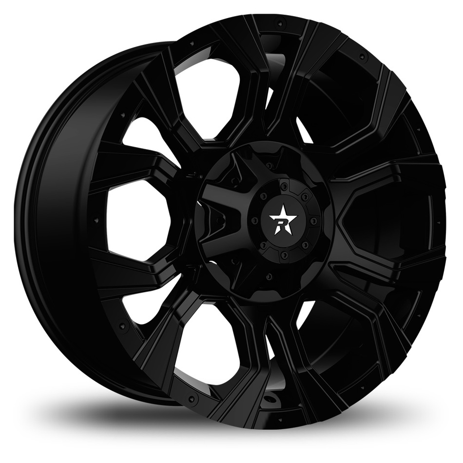 RBP Widow Offroad Gloss Black Finish Wheels