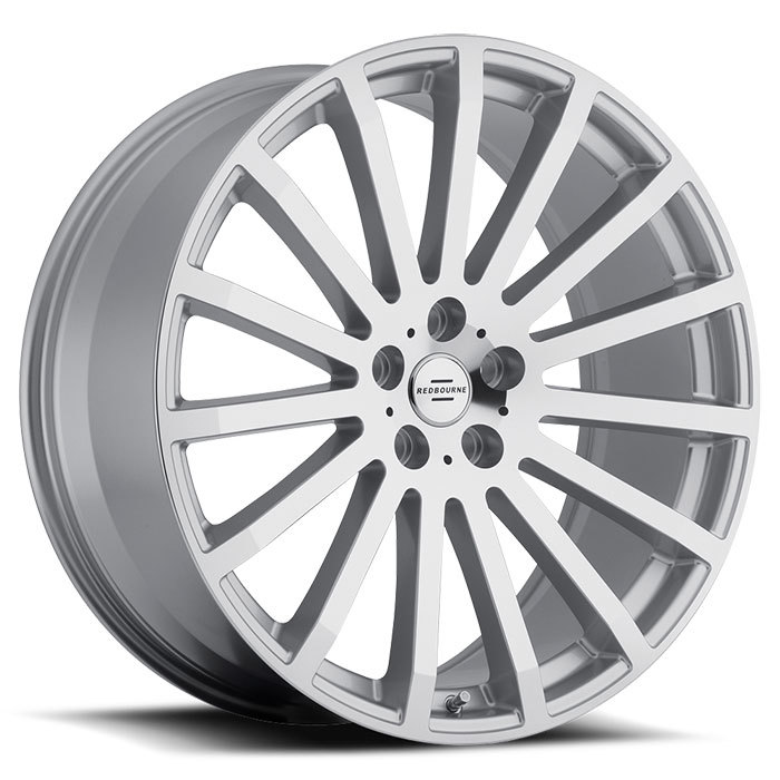 Redbourne Dominus Silver with Mirror Cut Face Land Rover Wheels - Standard