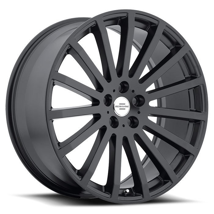 Redbourne Dominus Matte Black Land Rover Wheels - Standard