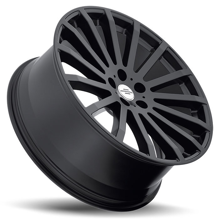 Redbourne Dominus Matte Black Land Rover Wheels - Lay