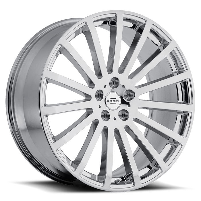 Redbourne Dominus Chrome Land Rover Wheels - Standard