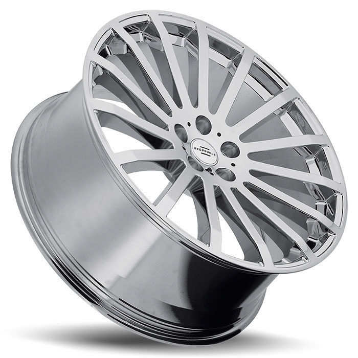 Redbourne Dominus Chrome Land Rover Wheels - Lay