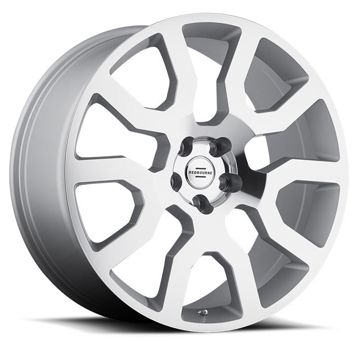 Redbourne Hercules Silver with Mirror Cut Face Finish Wheels