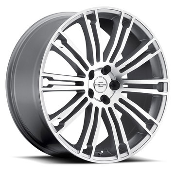 Redbourne Manor Silver with Mirror Cut Face Land Rover Wheels - Standard