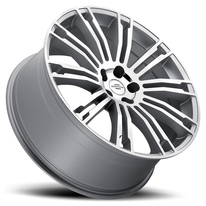 Redbourne Manor Silver with Mirror Cut Face Land Rover Wheels - Lay