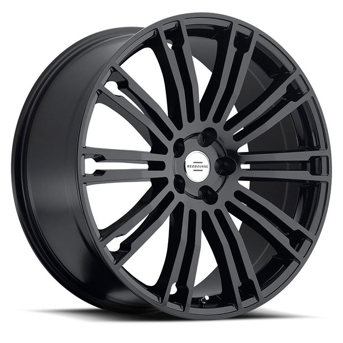 Redbourne Manor Gloss Black Land Rover Wheels - Standard