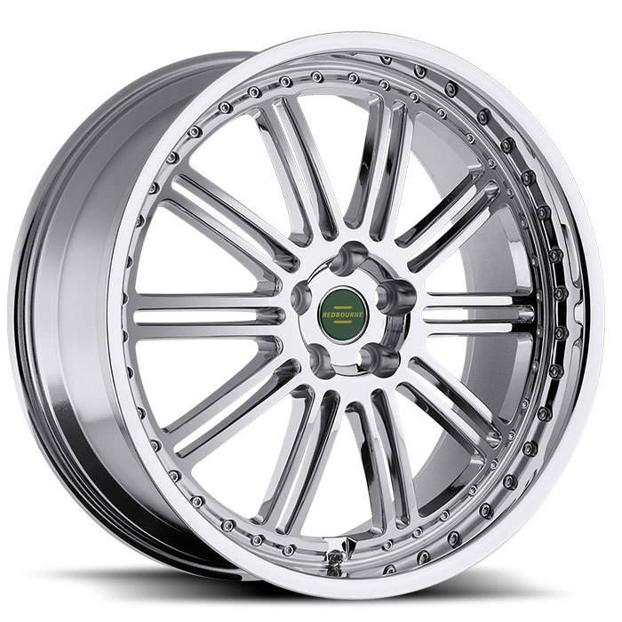 Redbourne Marques Chrome and Black Lip Wheels - Standard