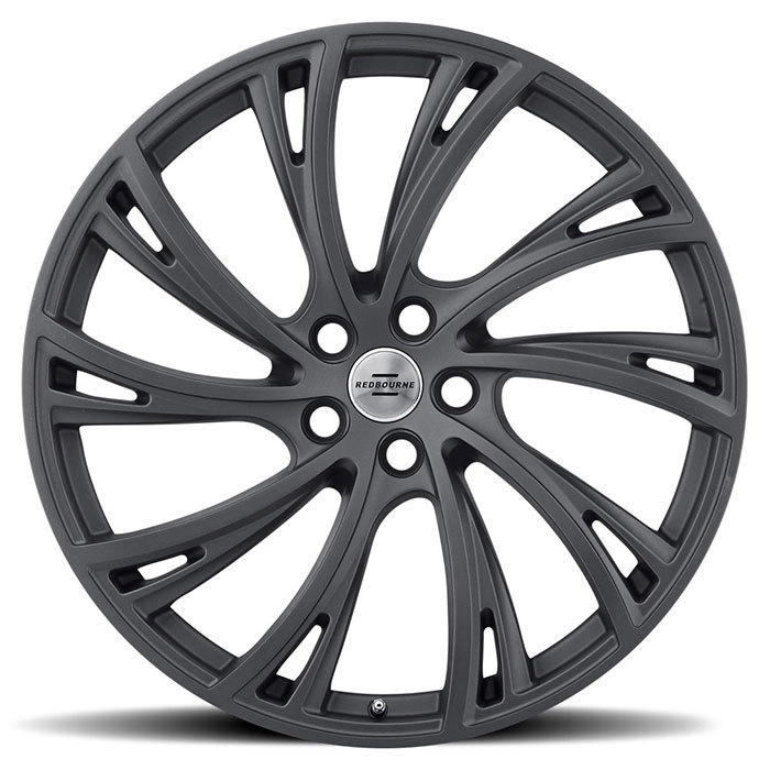 Redbourne Noble Matte Gunmetal Finish Wheels
