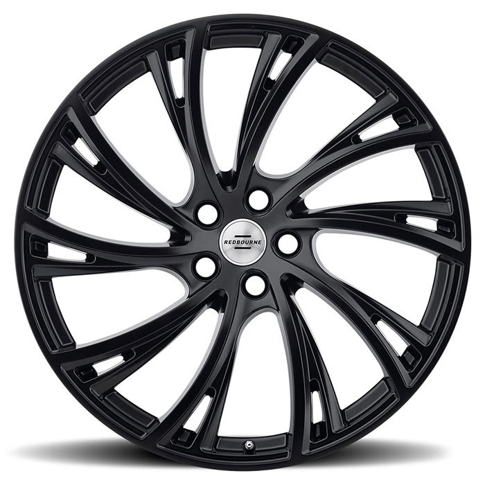 Redbourne Noble Matte Black with Gloss Black Face Finish Wheels