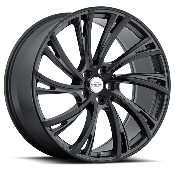Redbourne Noble Gloss Gunmetal with Gloss Black Face Finish Wheels