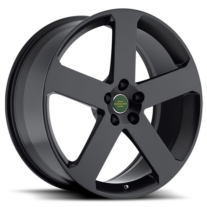 Redbourne Nottingham Matte Black Land Rover Wheels - Standard