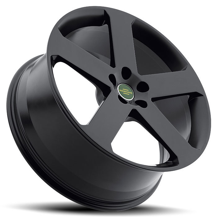 Redbourne Nottingham Matte Black Land Rover Wheels - Lay