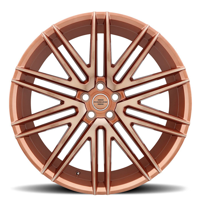 Redbourne Royalty Wheels Rose Gold Finish