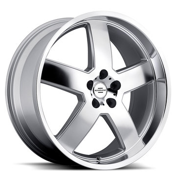 Redbourne Sovereign Silver with Mirror Cut Face and Lip Land Rover Wheels - Standard
