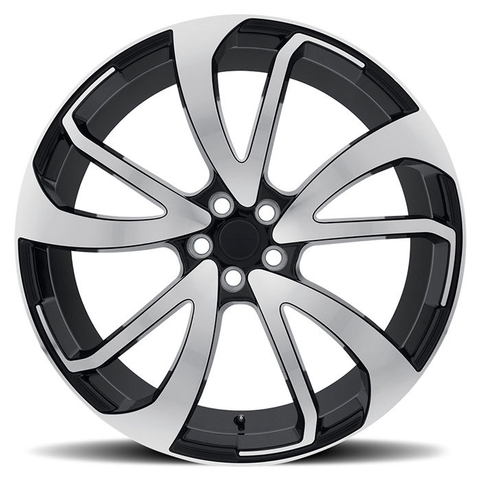 Redbourne Vincent Wheels Gloss Black with Mirror Cut Face Finish