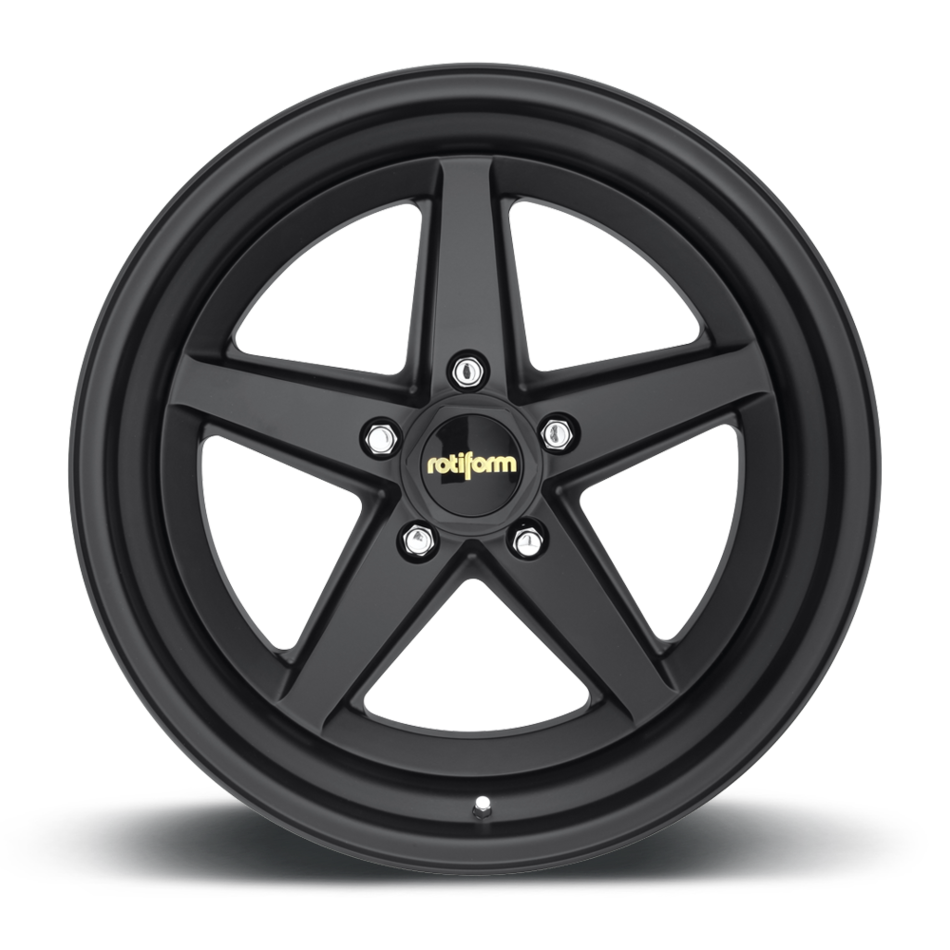 Rotiform 917 Forged Custom Matte Black Finish Wheels