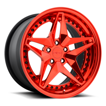 Rotiform AVV Forged Custom Candy Red Finish Wheels