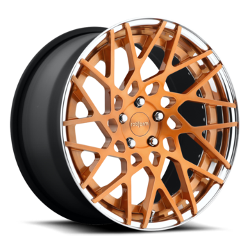 Rotiform BLQ-T Forged Custom Rose Gold Finish Wheels