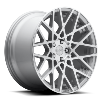 Rotiform BLQ Silver and Machined Finish Wheels