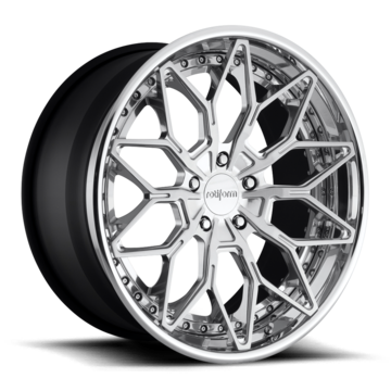 Rotiform BTC Forged Custom Brushed and Polished Finish Wheels