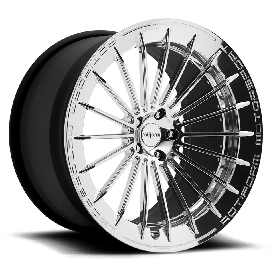 Rotiform BUC-M Forged Custom Polished Finish Wheels