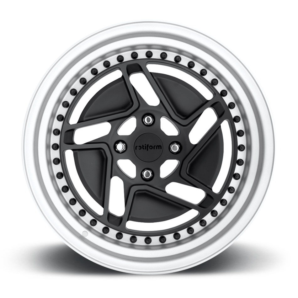 Rotiform CHD-T Forged Custom Matte Black Finish Wheels