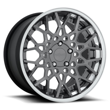 Rotiform CSW Forged Custom Gloss Anthracite Finish Wheels