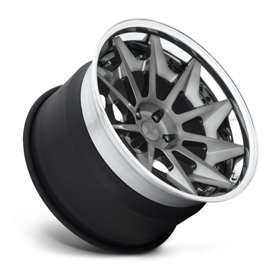 Rotiform CVT Forged Custom Brushed DDT Finish Wheels
