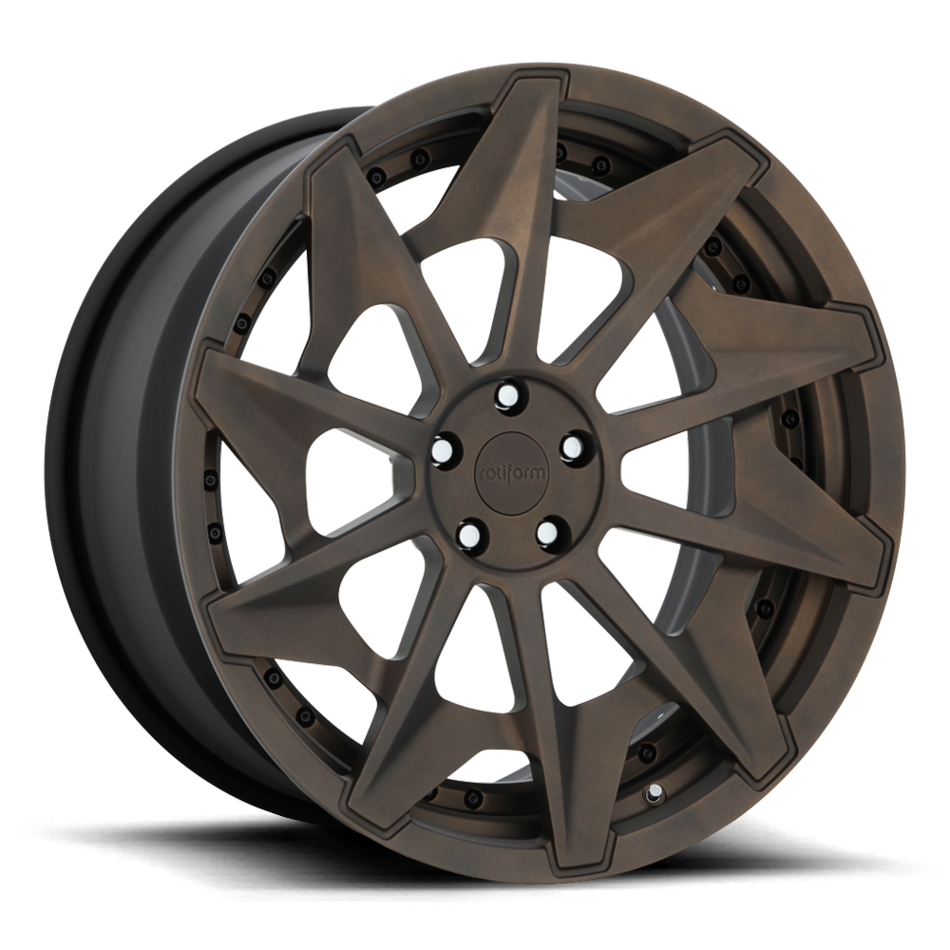 Rotiform CVT Forged Custom Matte Bronze Finish Wheels