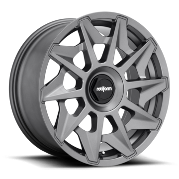Rotiform CVT Matte Anthracite Finish Wheels