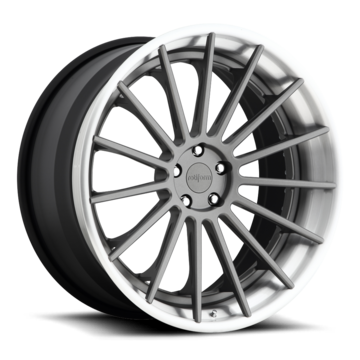 Rotiform DUS Forged Custom Matte Anthracite Finish Wheels