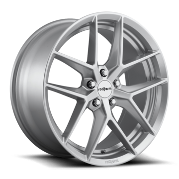 Rotiform FLG Silver Finish Wheels
